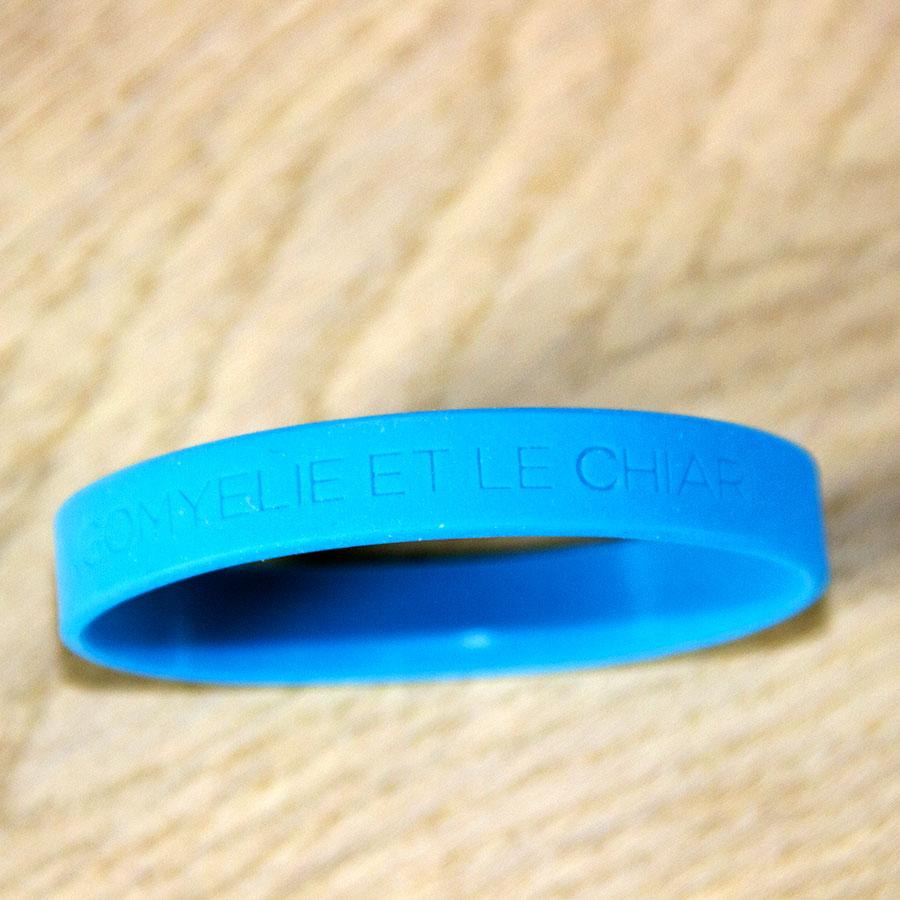 Bracelet bleu APAISER S&C