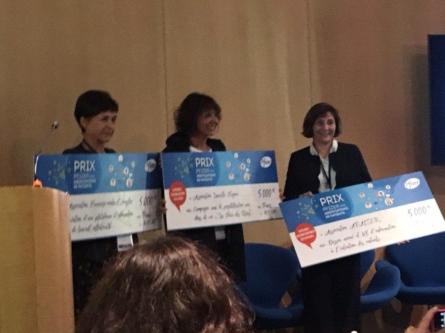 Prix Patient Pfizer 2017