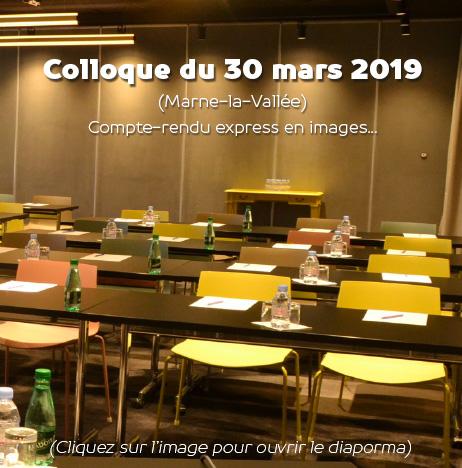Diaporama colloque Apaiser S&C 30 mars 2019, Marne-la-Vallée