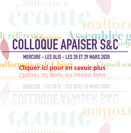 Colloque Apaiser S&C 2020