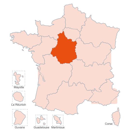 Structures Spécialisées Douleur Chronique, Centre Val de Loire, APAISER S&C janvier 2021