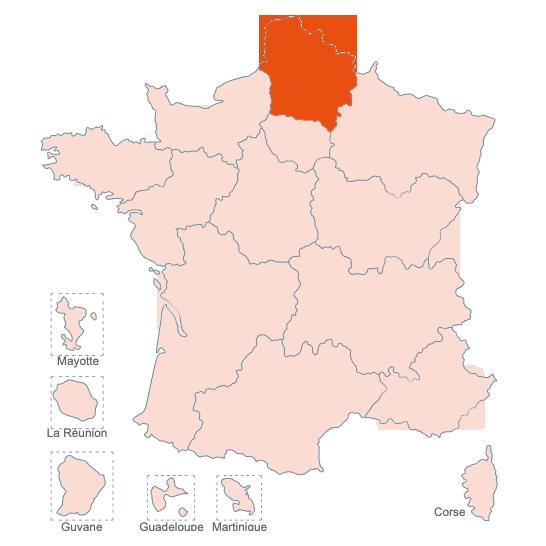 Structures Spécialisées Douleur Chronique, Hauts de France, APAISER S&C janvier 2021